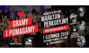 """Maraton perkusyjny """"Gramy i pomagamy"""" w Warszawie"""