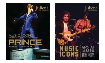 """Majowe aukcje """"Music Icons"""" zakończone"""