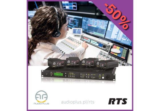 Audio Plus – promocja systemów Partyline marki RTS