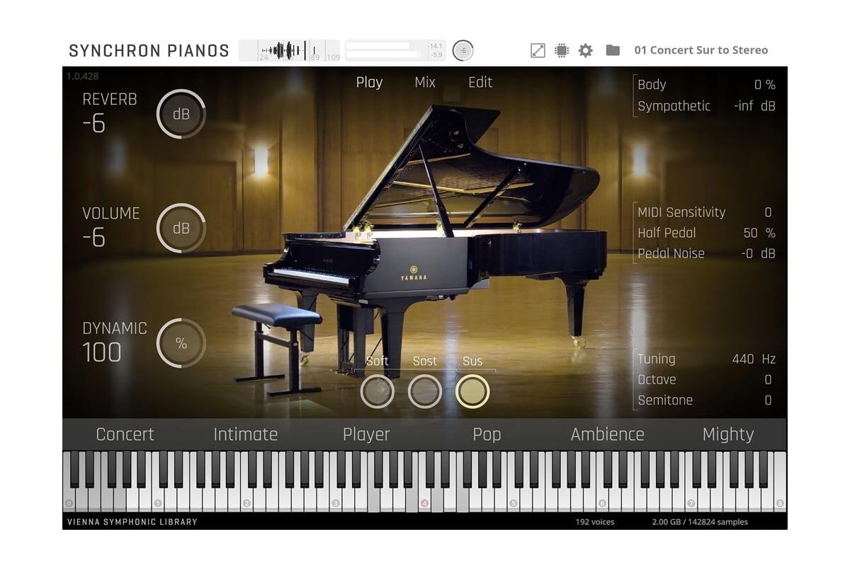 Vienna Symphonic Library Synchron Yamaha CFX
