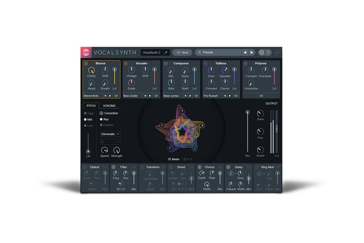 iZotope VocalSynth 2 już dostępny