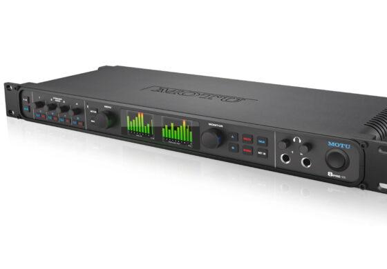 MOTU 8pre-es – nowy interfejs audio