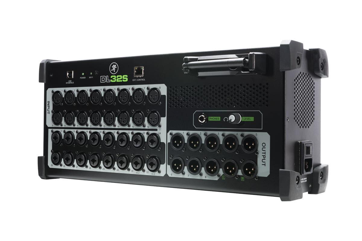 Mackie – nowe miksery cyfrowe DL32S i DL16S