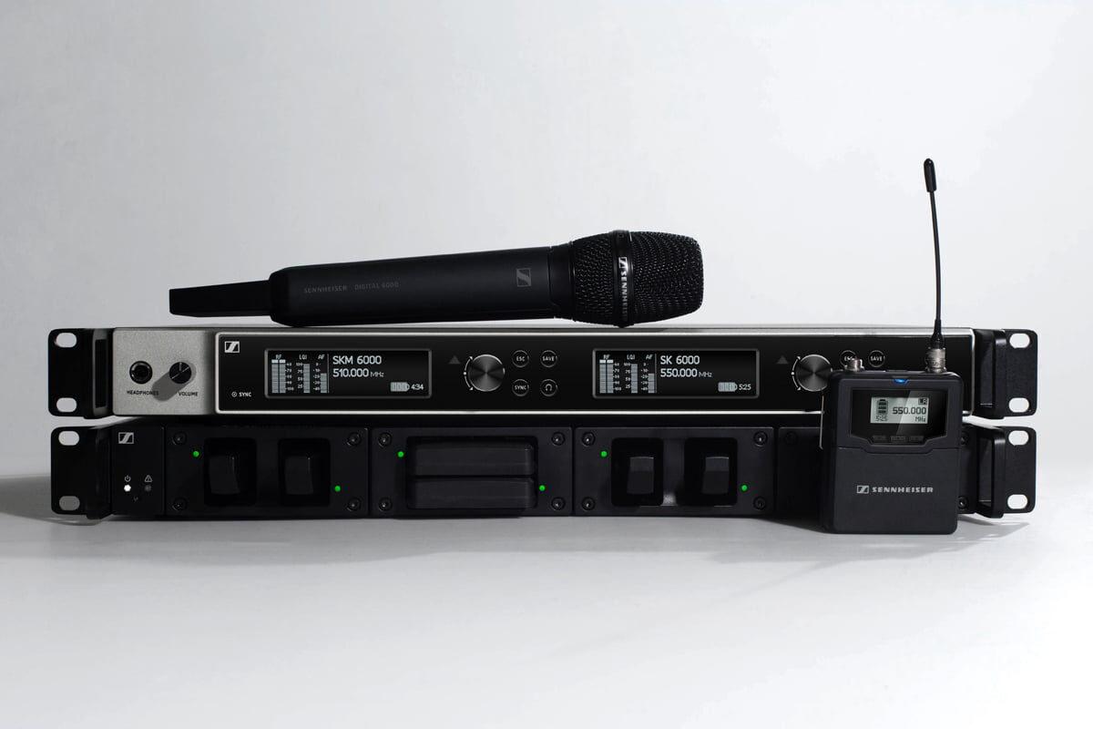 Sennheiser – integracja systemu Digital 6000 z mikserami Yamaha