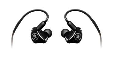 Mackie – słuchawki douszne MP-120, MP-220 i MP-240