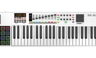 M-Audio Code 49 – test klawiatury sterującej
