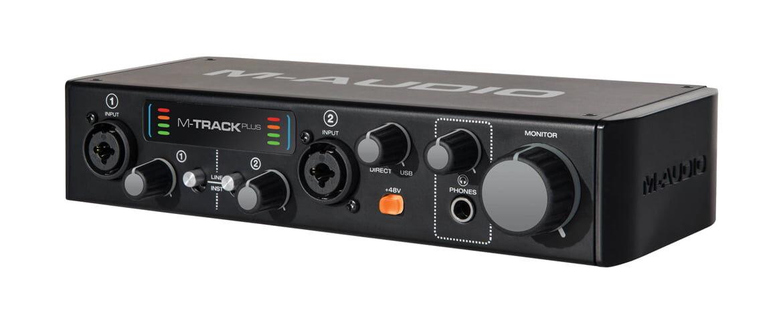M-Audio M-Track Plus mkII – test interfejsu audio