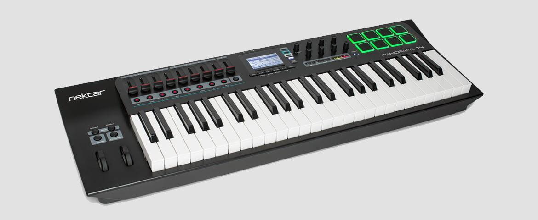 Nektar Panorama T4 i T6 – nowe klawiatury sterujące