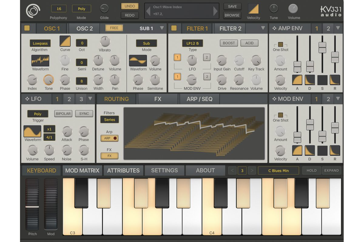 KV331 Audio SynthMaster One iOS