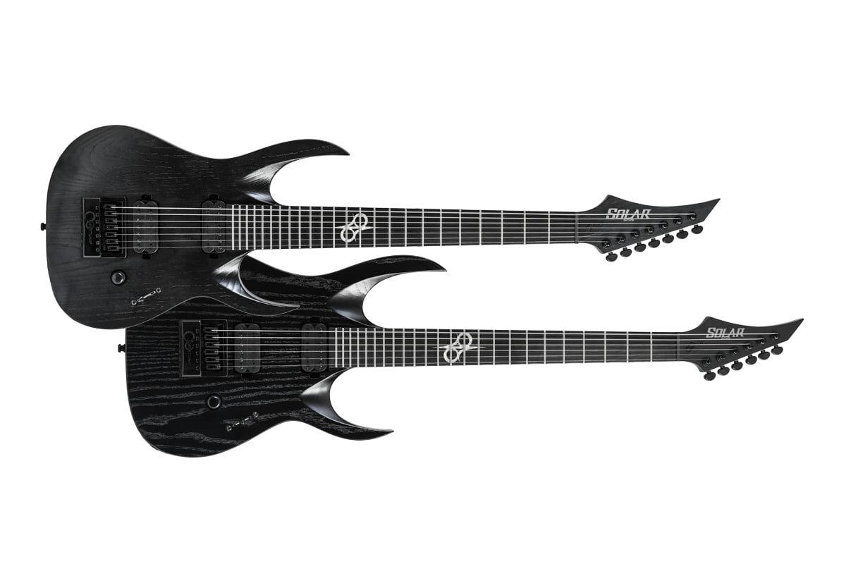 Solar Guitars – dwie gitary BOP Artist LTD