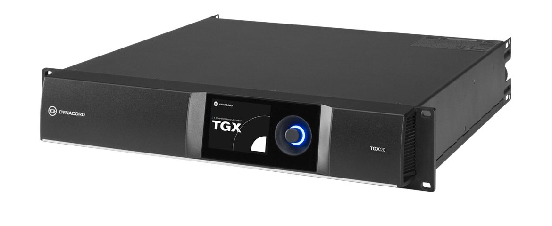 Dynacord – nowe wzmacniacze mocy TGX10 i TGX20
