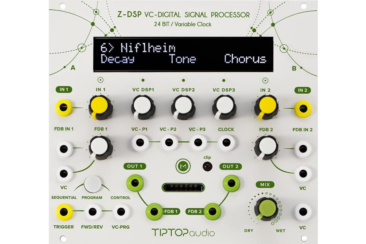 Tiptop Audio – nowa wersja modułu Z-DSP