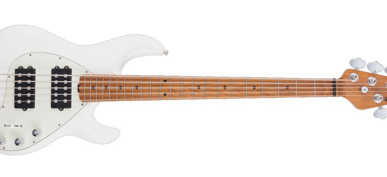 StingRay 5 Special HH Ivory White