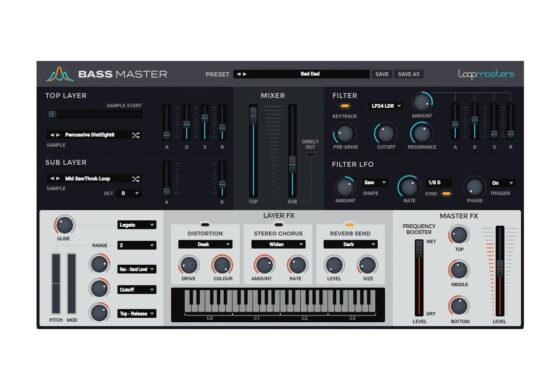 Loopmasters Bass Master – wtyczka VST/AU