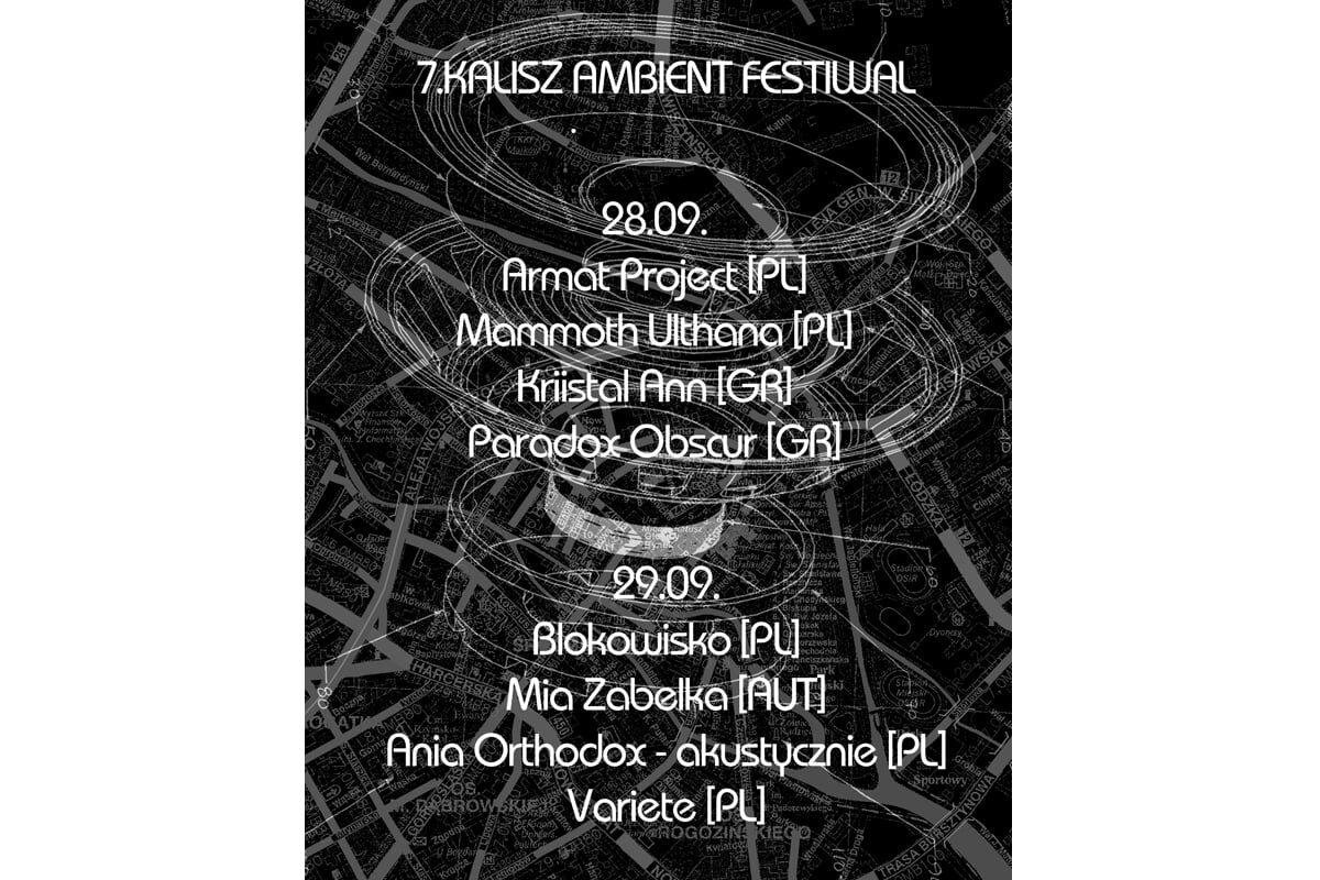 7. Kalisz Ambient Festiwal coraz bliżej