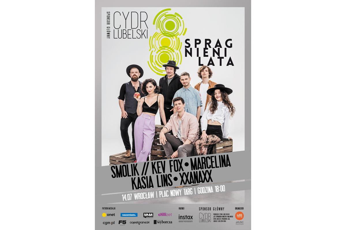 Cydr Lubelski Spragnieni Lata – muzyczny ferment we Wrocławiu!