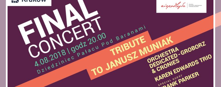 Koncert finałowy Summer Jazz Festival – Tribute to Janusz Muniak