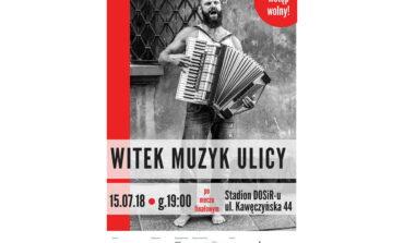 Witek Muzyk Ulicy – koncert na warszawskiej Pradze