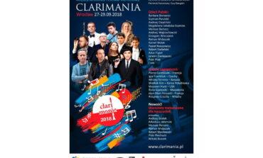 Międzynarodowy Festiwal Klarnetowy Clarimania 2018
