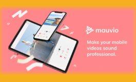 Mauvio – aplikacja do edycji dźwięku z filmów