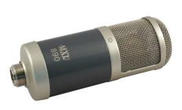 MXL 890 – test mikrofonu pojemnościowego