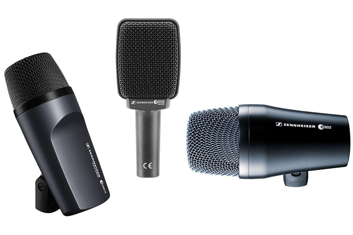 Dynamiczne mikrofony instrumentalne: Sennheiser