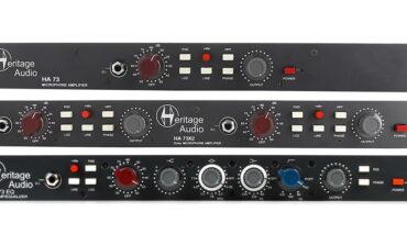 Przedwzmacniacze Heritage Audio ELITE