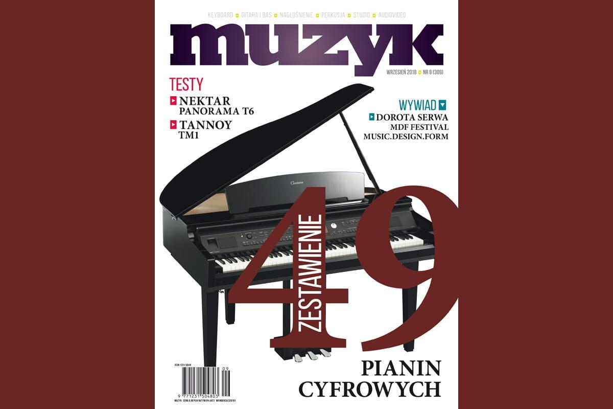 Wrześniowy numer miesięcznika Muzyk