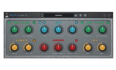 AudioThing miniVerb – nowy efekt Echo/Reverb