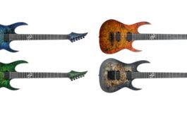 Solar Guitars – nowe gitary Poplar Burl LTD