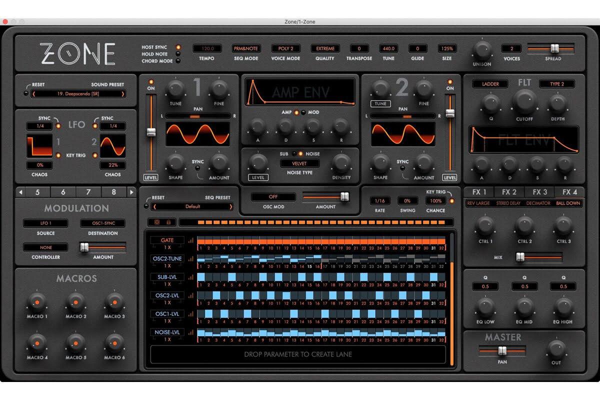 Audiaire Zone – nowy syntezator wirtualny