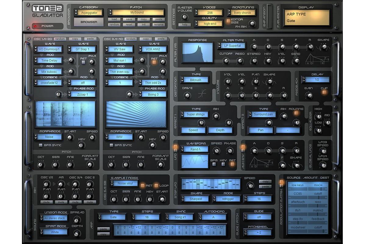 TONE2 Audio Gladiator3 już dostępny