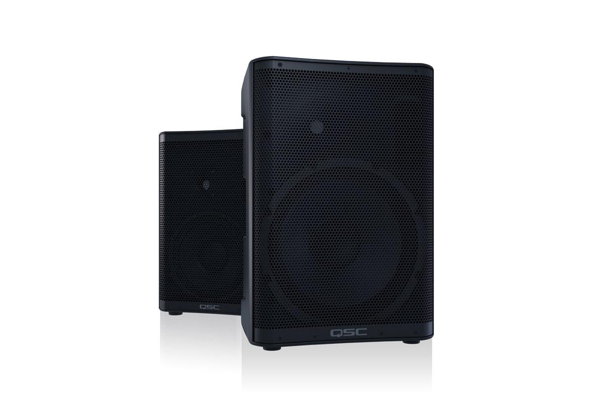 QSC – nowe aktywne zestawy głośnikowe CP8 i CP12