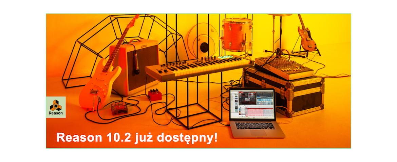 Propellerhead Reason 10.2 w Audio Factory