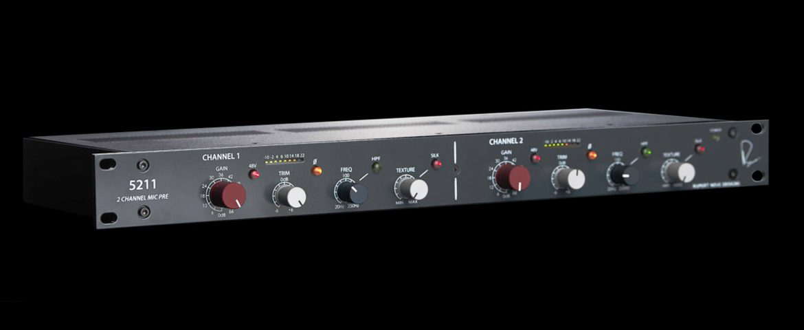 Rupert Neve Designs 5211 – nowy preamp mikrofonowy