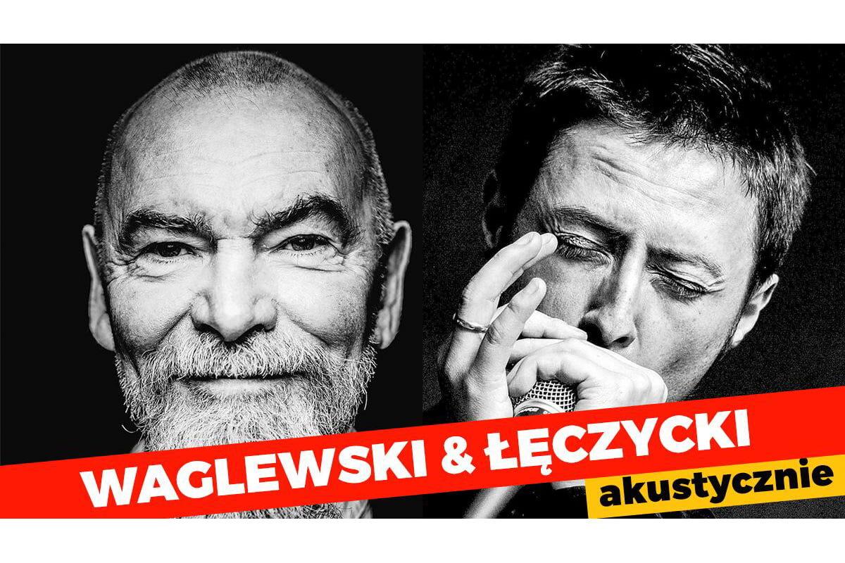 Waglewski i Łęczycki akustycznie w Krakowie