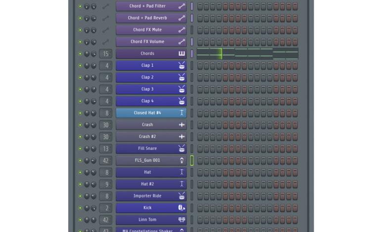 FL_Studio20 ChannelRack