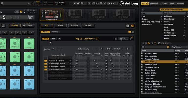 GA5_Percussion Agent_Pattern