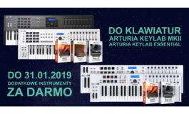 Arturia – dodatkowe instrumenty z kontrolerami KeyLab MKII i KeyLab Essential