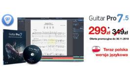 Guitar Pro 7.5 – promocja w Audio Factory