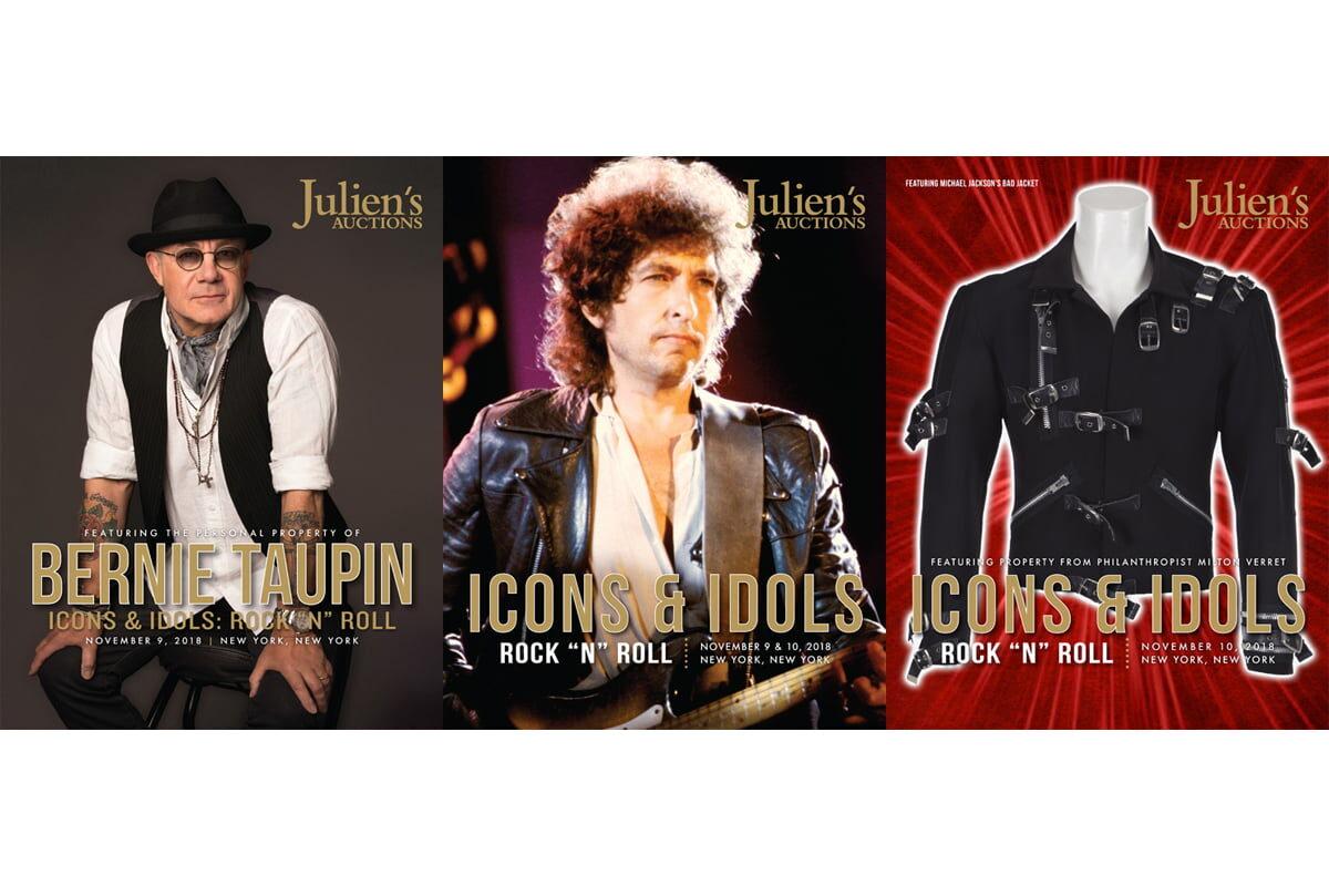 "Kolejna aukcja ""Icons & Idols: Rock'n'Roll"" za nami"