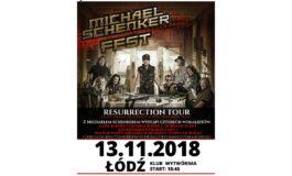 Michael Schenker Fest na jedynym koncercie w Polsce