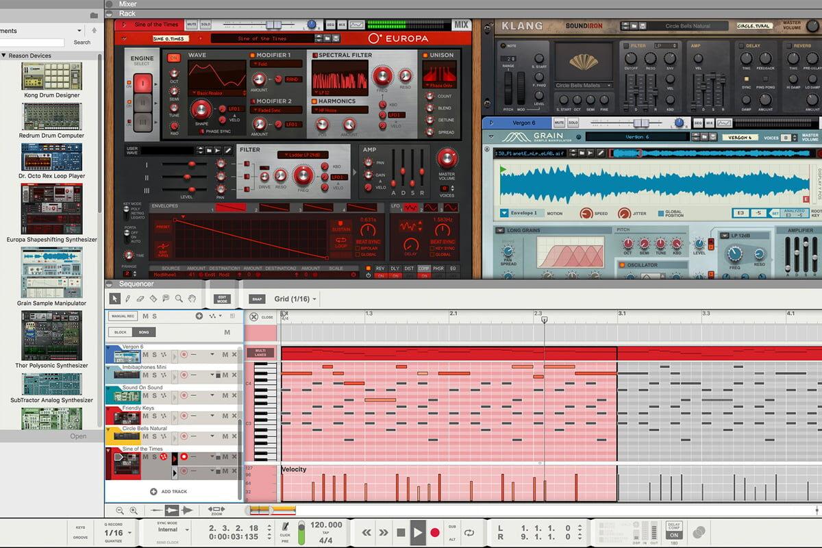 Reason 10 – BLACK FRIDAY w Audio Factory