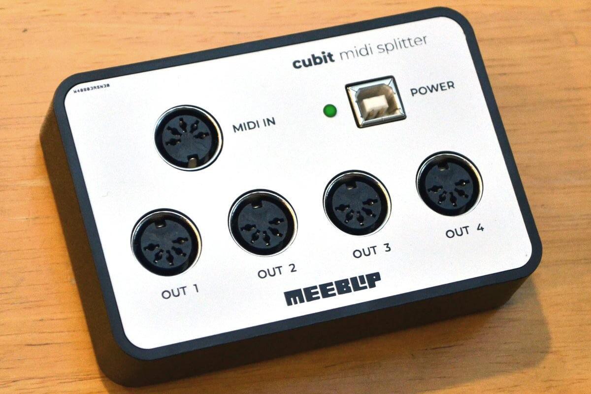 MeeBlip cubit MIDI Splitter