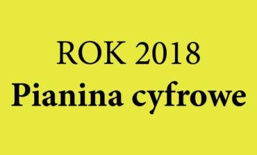 Rok 2018 – pianina cyfrowe