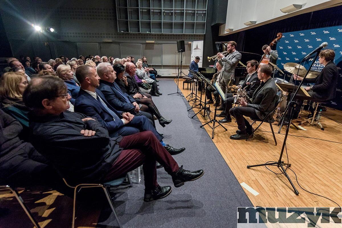 Orkiestra Wojtka Groborza w studio koncertowym Radia Kraków