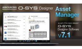 QSC Q-SYS Designer Asset Manager