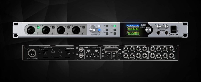 Steinberg AXR4 – nowy interfejs audio