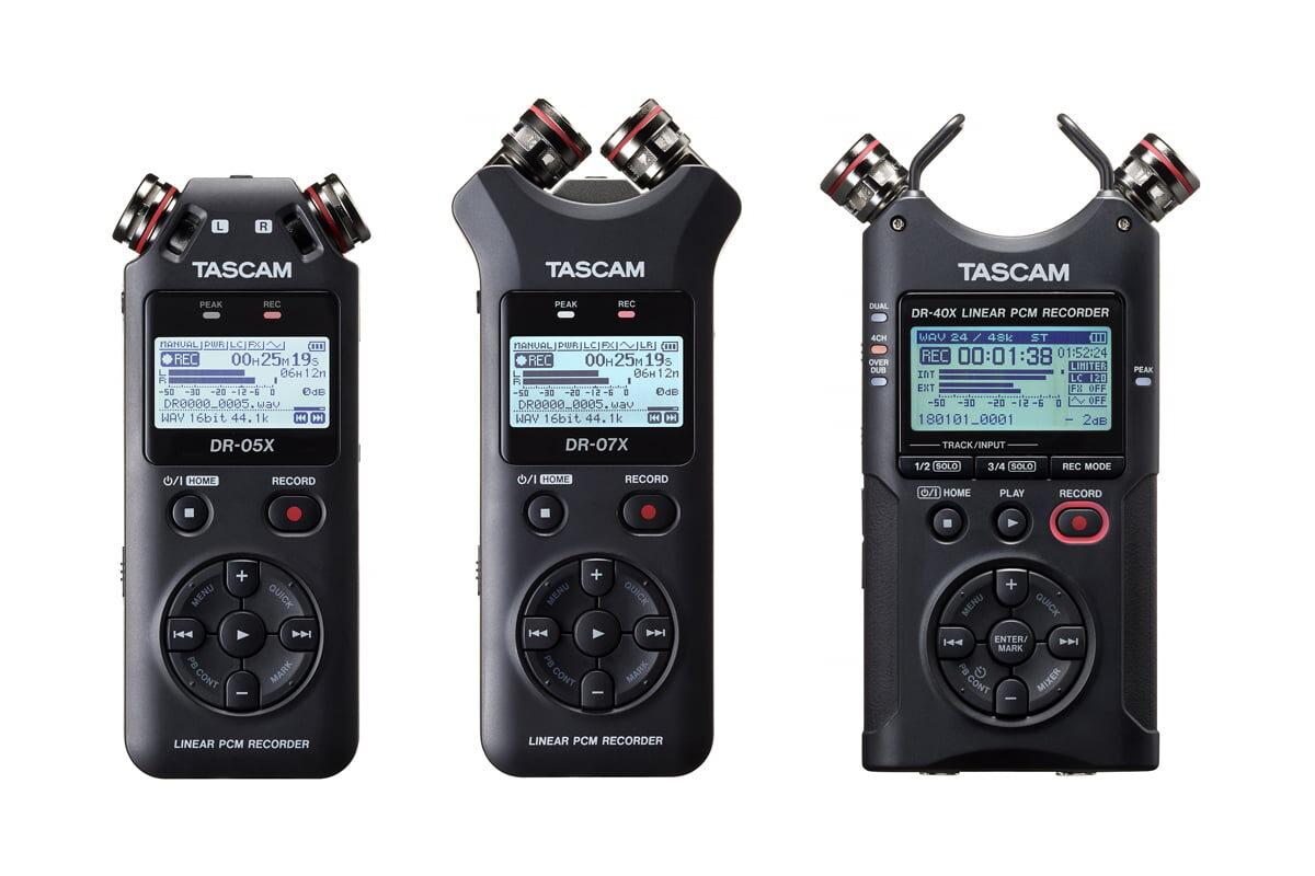 Przegląd – rejestratory audio: TASCAM