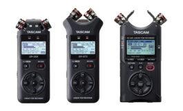 TASCAM DR-05X, DR-07X i DR-40X – nowe rejestratory audio